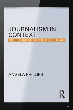 Cover of Journalism in Context