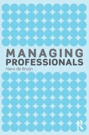 Cover of Managing Professionals