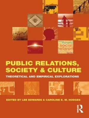 Cover of Public Relations, Society and Culture