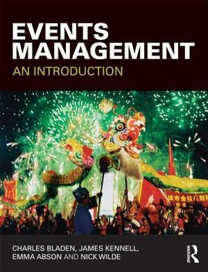 Cover of Events Management