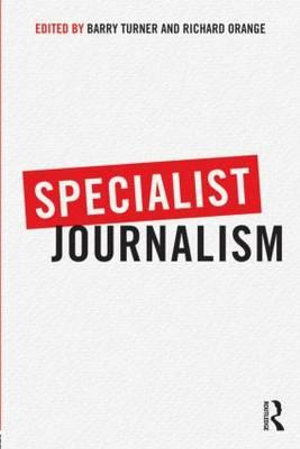 Cover of Specialist Journalism
