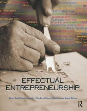 Cover of Effectual Entrepreneurship