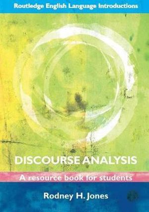 Cover of Discourse Analysis