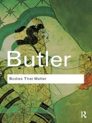 Cover of Bodies that Matter