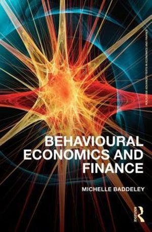Cover of Behavioural Economics and Finance