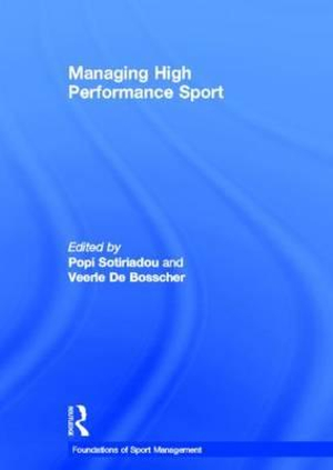 Cover of Managing High Performance Sport