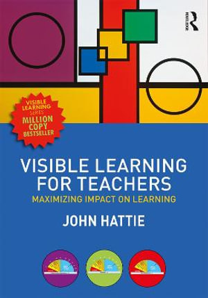 Cover of Visible Learning for Teachers
