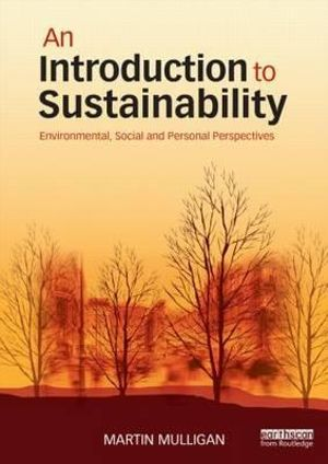 Cover of An Introduction to Sustainability