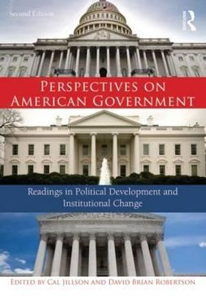 Cover of Perspectives on American Government