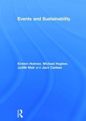 Cover of Events and Sustainability