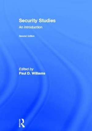 Cover of Security Studies: An Introduction