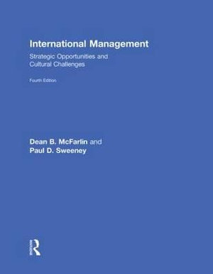 Cover of International Management: Strategic Opportunities and ...
