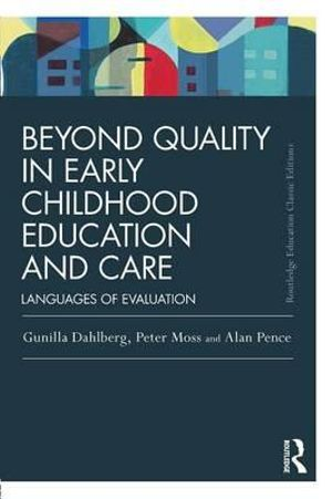 Cover of Beyond Quality in Early Childhood Education and Care