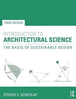 Cover of Introduction to Architectural Science