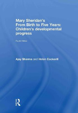 Cover of Mary Sheridan's from Birth to Five Years