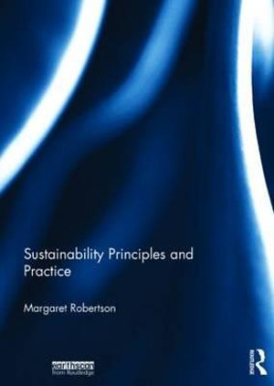 Cover of Sustainability Principles and Practice