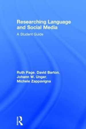 Cover of Researching Language and Social Media