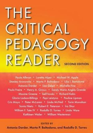 Cover of The Critical Pedagogy Reader