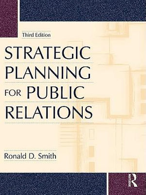 Cover of Strategic Planning for Public Relations