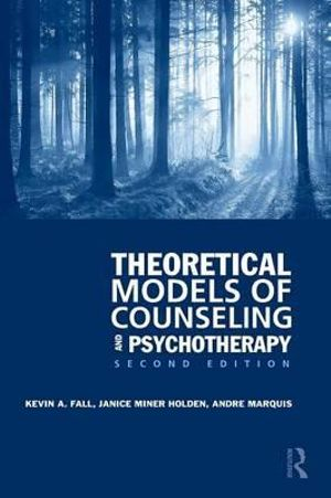 Cover of Theoretical Models of Counseling and Psychotherapy