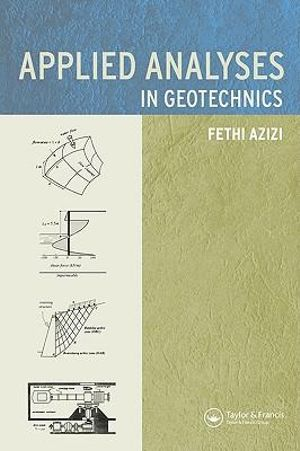 Cover of Applied Analyses in Geotechnics