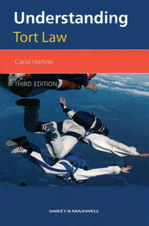 Cover of Understanding Tort Law