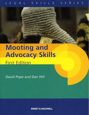 Cover of Mooting and Advocacy Skills