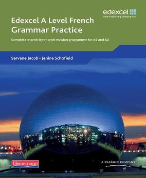 Cover of Edexcel A Level French Grammar Practice Book