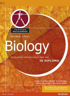 Cover of Pearson Baccalaureate: Higher Level Biology for the IB