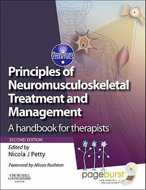 Cover of Principles of Neuromusculoskeletal Treatment and Management,A Handbook for Therapists with PAGEBURST Access,2