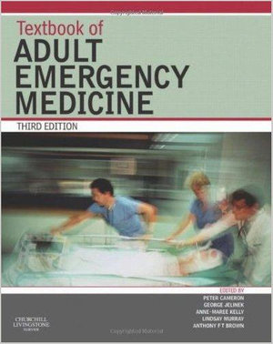 Cover of Textbook of Adult Emergency Medicine, Third Edition