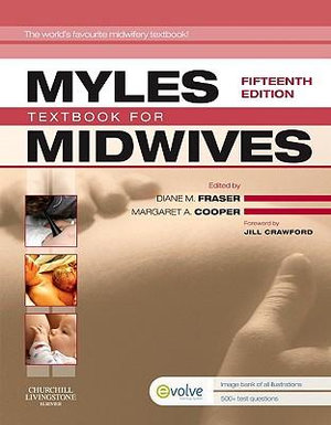 Cover of Myles' Textbook for Midwives 15e