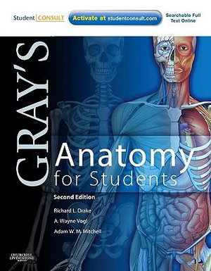 Cover of Gray's Anatomy for Students, 2nd Edition