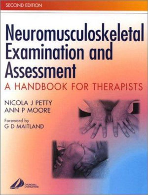 Cover of Neuromusculoskeletal Examination and Assessment