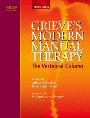 Cover of Grieve's Modern Manual Therapy