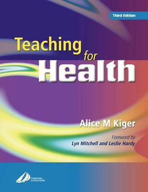 Cover of Teaching for Health
