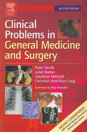 Cover of Clinical Problems in General Medicine and Surgery