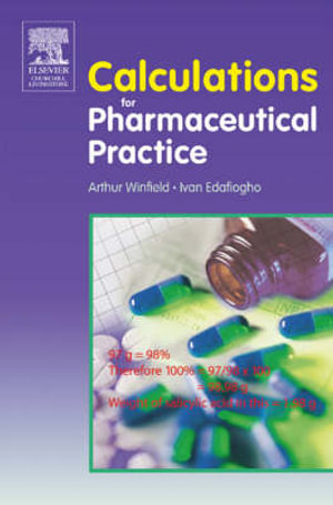 Cover of Calculations for Pharmaceutical Practice