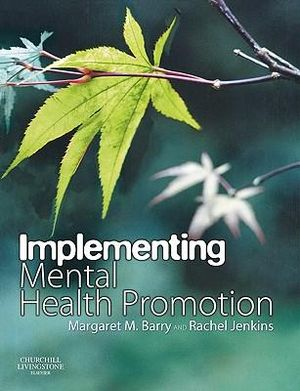 Cover of Implementing Mental Health Promotion