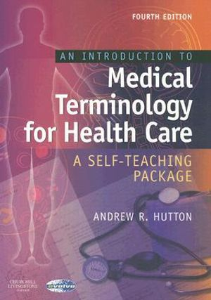 Cover of Introduction to Medical Terminology for Health Care