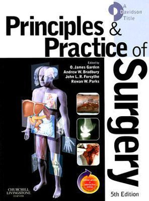 Cover of Principles and Practice of Surgery