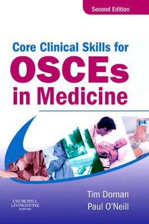 Cover of Core Clinical Skills for OSCEs in Medicine