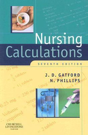 Cover of Nursing Calculations