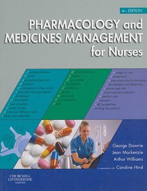 Cover of Pharmacology and Medicines Management for Nurses
