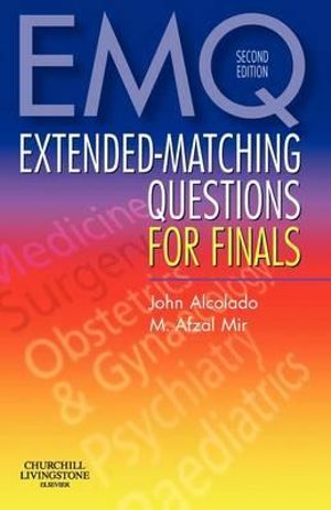 Cover of Extended-matching Questions for Finals