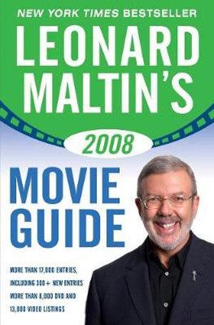 Cover of Leonard Maltin's Movie Guide 2008