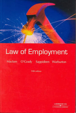 Cover of The Law of Employment