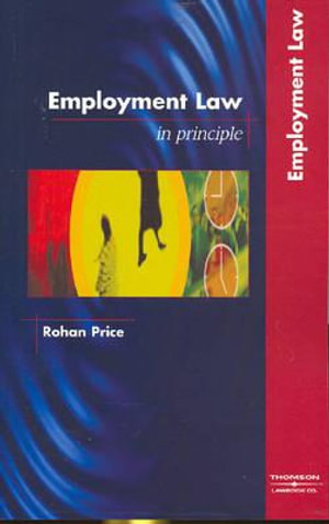 Cover of Employment Law in Principle