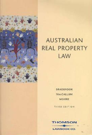 Cover of Australian Real Property Law