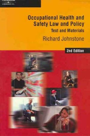 Cover of Occupational Health and Safety Law and Policy